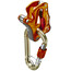 Climbing Technology Click-Up Belay Kit orange